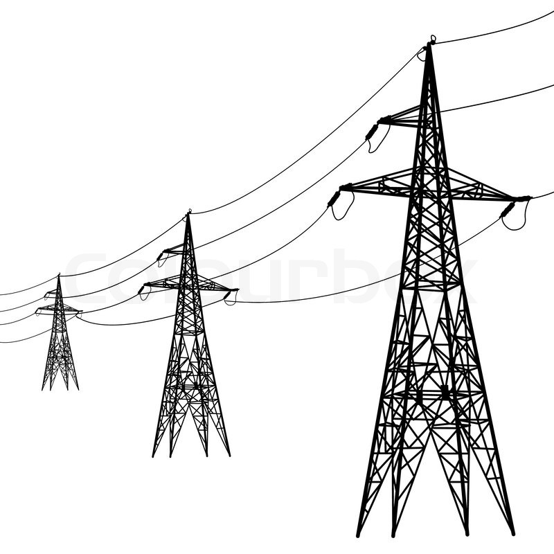 Line Art Resolution : For electric power lines clipart suggest