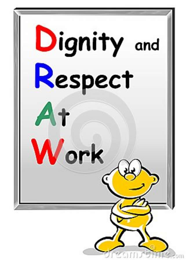 respect in work Fathers should work on teaching respect to their children in their earliest years as soon as they are able to communicate and model behavior, we.