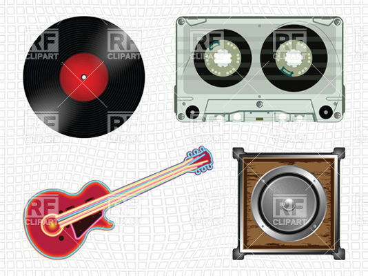 Audio Recording Studio 11453 Download Royalty Free Vector Clipart