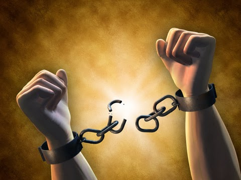 breaking free of the chains and