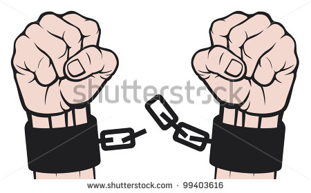 Clip Art Person In Chains Clipart - Clipart Kid