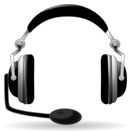 Headset With Microphone Illustration Png Format
