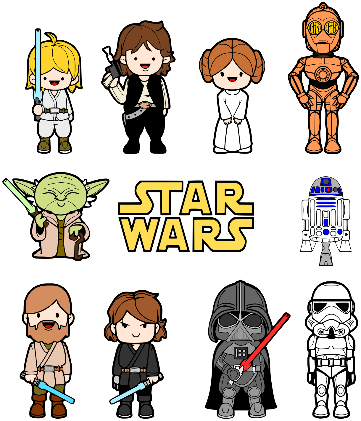 Star Wars Characters Clipart - Clipart Kid: www.clipartkid.com/star-wars-characters-cliparts