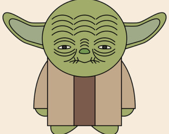 Pin Star Wars Yoda Clip Art On Pinterest