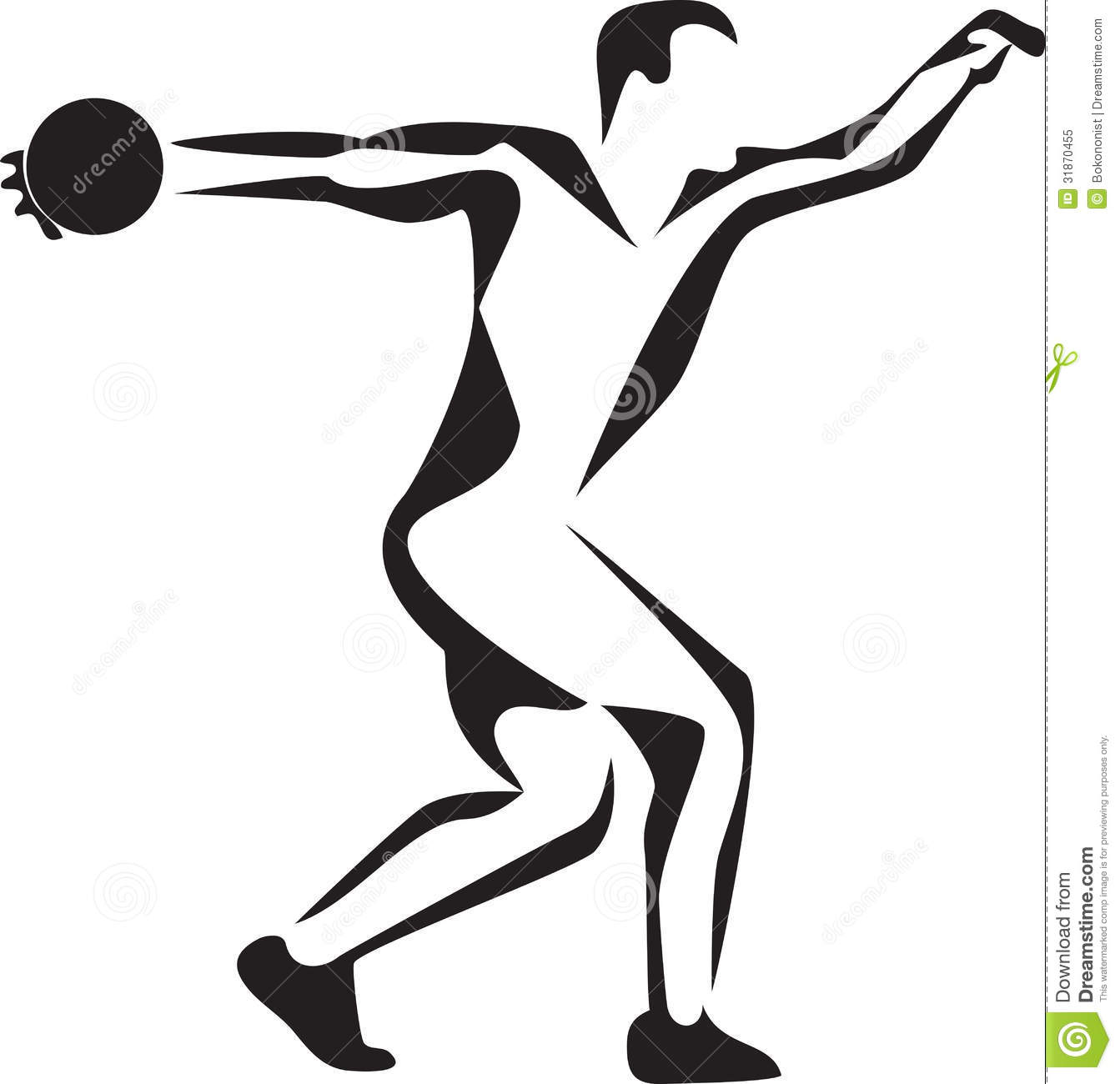 Clip Art Shot Put Thrower Clipart - Clipart Suggest