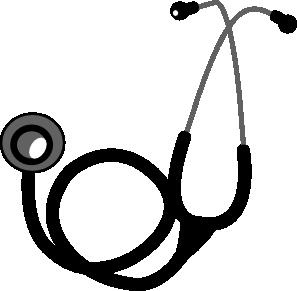Stethoscope 2 Clip Art At Clker Com   Vector Clip Art Online Royalty