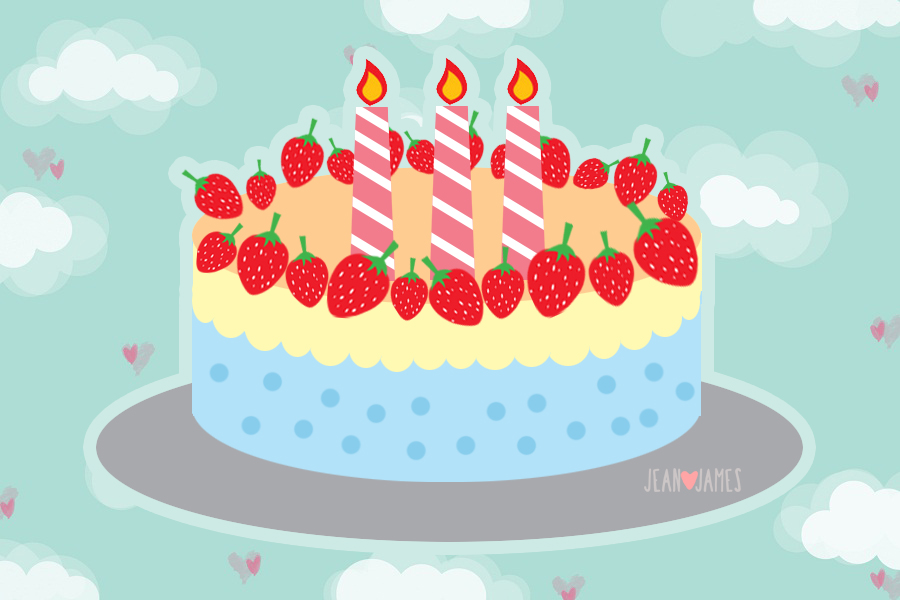 Strawberry Cake Cartoon Images : Strawberry Birthday Cake Clipart - Clipart Suggest