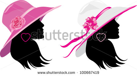 Trendy Hats For Woman Stock Photos Illustrations And Vector Art