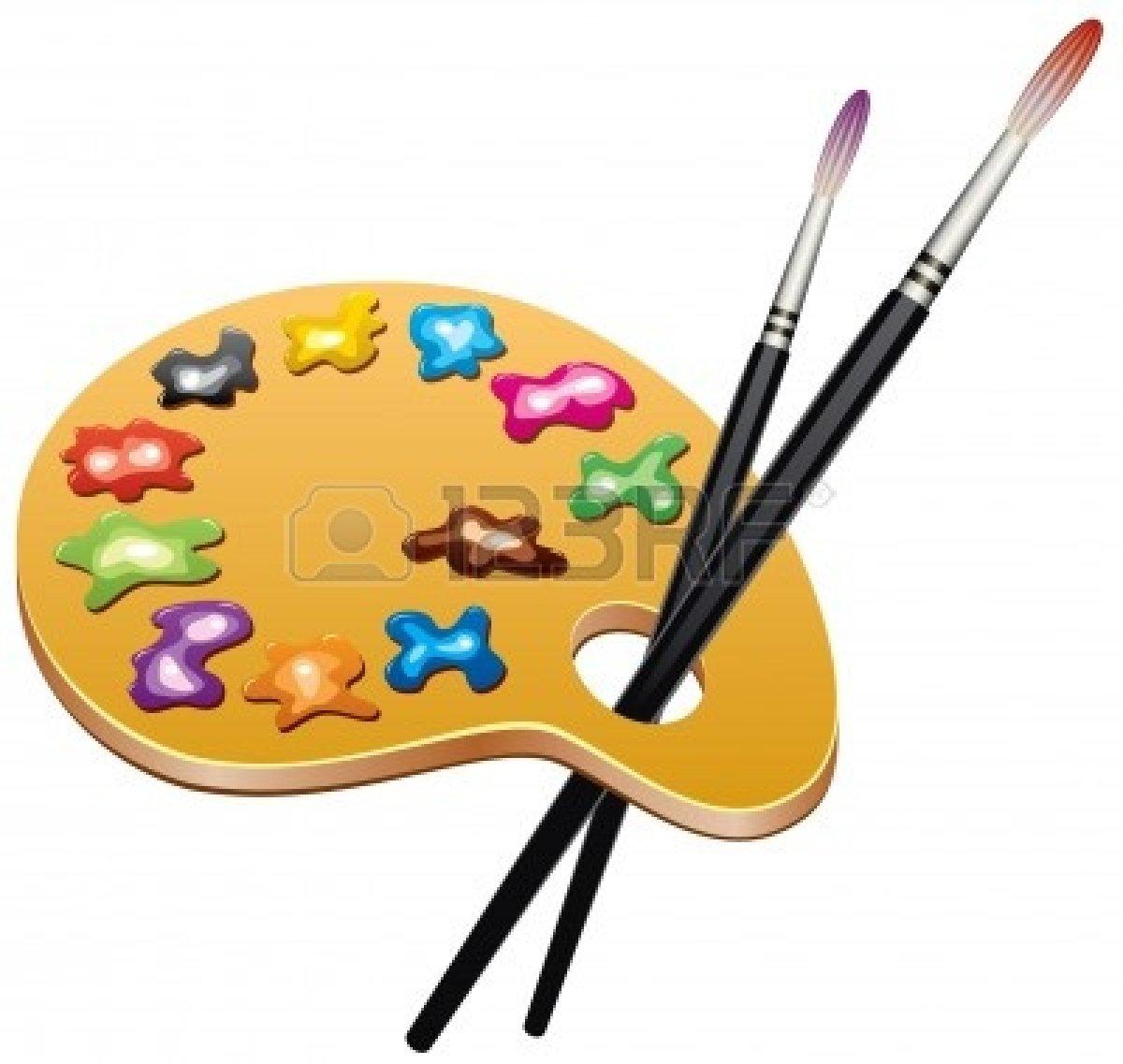 Clip Art Artist Paint Palette Clipart - Clipart Suggest