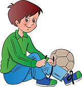 Child Putting On Shoes Clipart Images   Pictures   Becuo