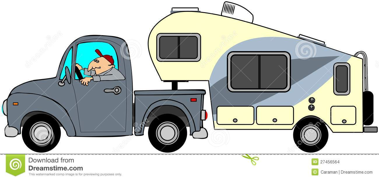 Truck And Camper Clipart Clipart Suggest