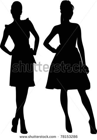 Female Silhouette Stock Photos Images   Pictures   Shutterstock