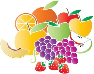 Fruit Clip Art Images Fruit Stock Photos   Clipart Fruit Pictures