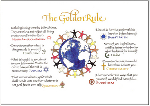Golden Rule Card Set