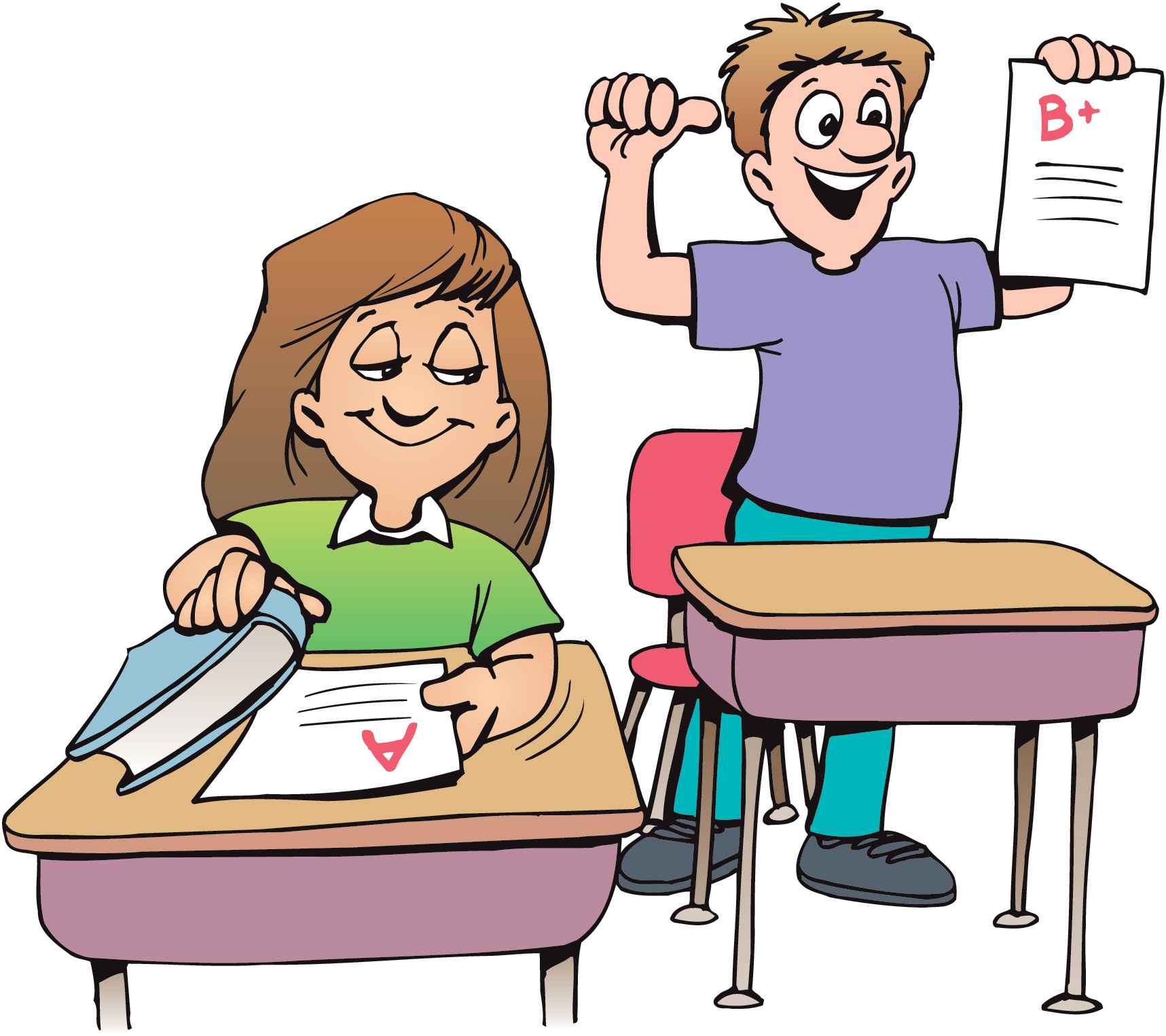 Teacher To Students Reading Clipart - Clipart Kid