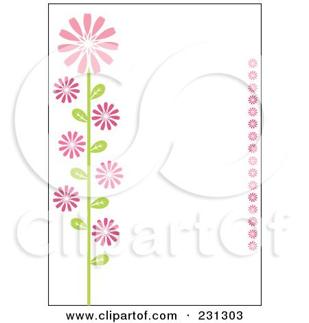 Horizontal Flowers Borders Clipart - Clipart Kid