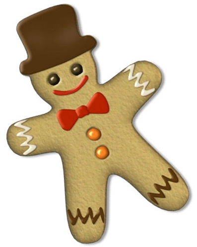 Christmas Gingerbread Man Clip Art Pictures And Coloring Pagesphotos