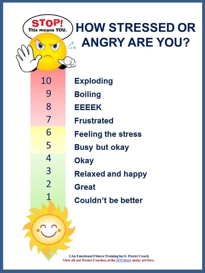 Emotionalintelligence Blog Post  Anger Management Feeling Thermometer
