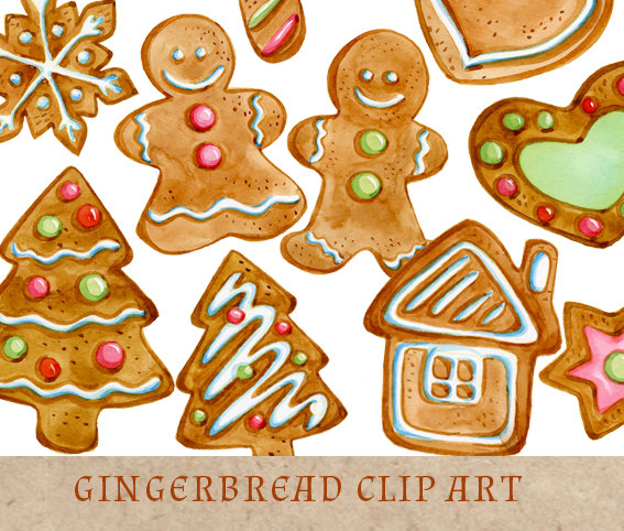 Gingerbread Cookies Clipart Christmas Clip Art Gingerbread Man