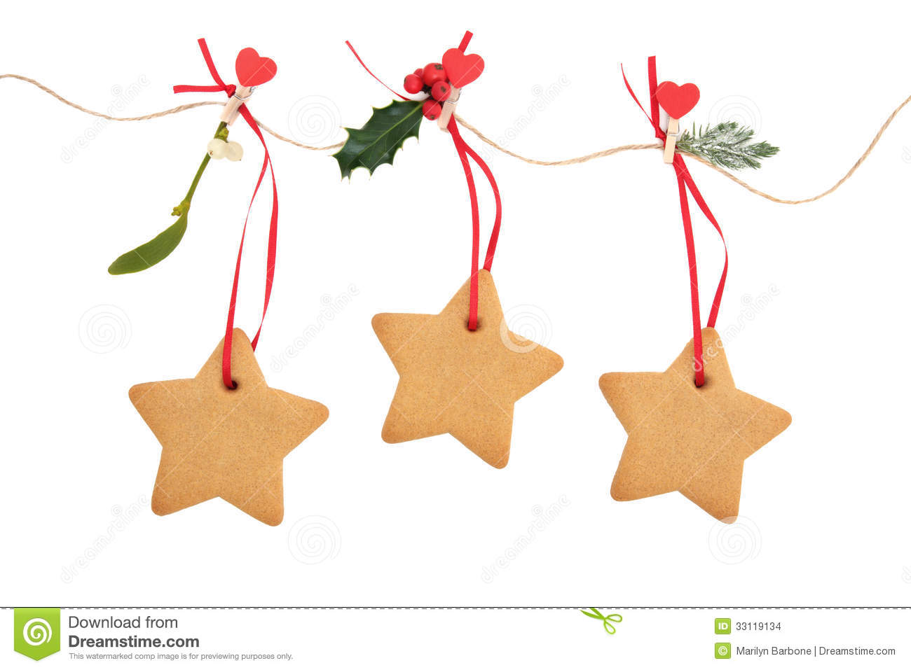 Gingerbread Cookies Stock Images   Image  33119134