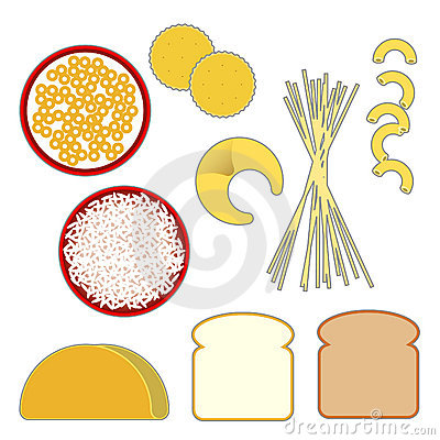 Grain Food Group Clipart - Clipart Suggest