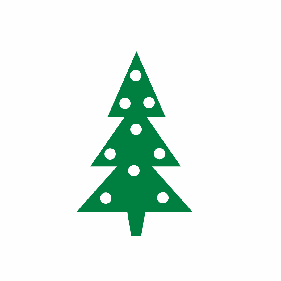 Cute Christmas Tree Light Clipart - Clipart Kid