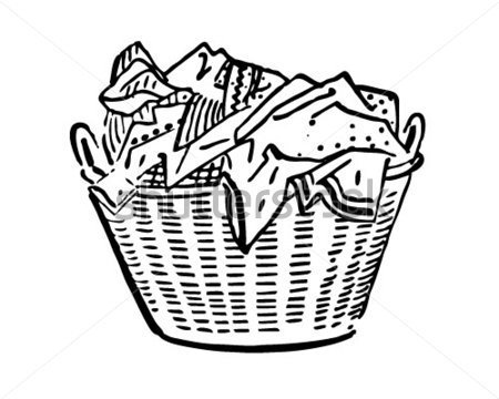 Dirty Clothes Basket Clipart Clipart Suggest