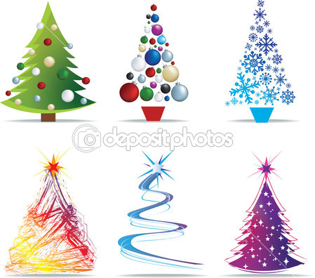 clip art tree modern christmas clipart clipart suggest. Black Bedroom Furniture Sets. Home Design Ideas
