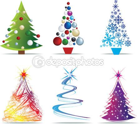 clip art tree modern christmas clipart clipart suggest. Black Bedroom Furniture Sets. Home Design Ideas