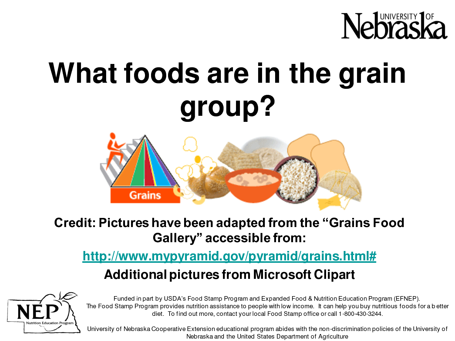 Grains Food Group Clipart - Clipart Suggest