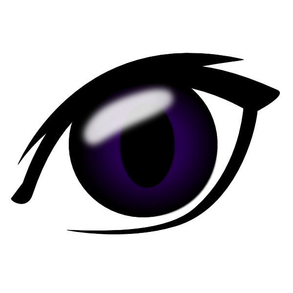 Anime Eye Clip Art At Clker Com   Vector Clip Art Online Royalty Free
