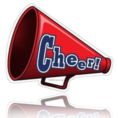 Clip Art Cheerleader Free Printable   Cheerleader Clipart Megaphone