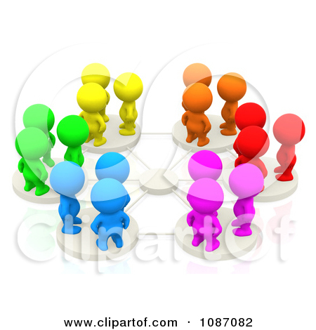 3D People Clip Art