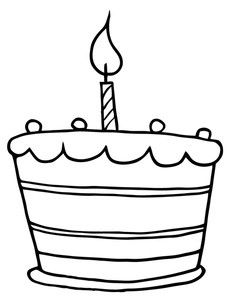 Clipart Black And White Birthday Cupcake Clip Art Black And White 119