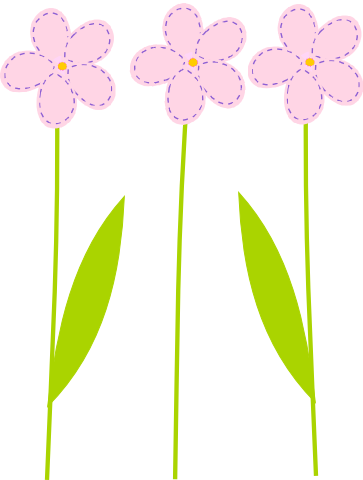 Free Flowers Clipart Graphic