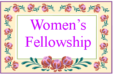Monday Women S Fellowship Will At 6 30 P M  April 13th At The Home