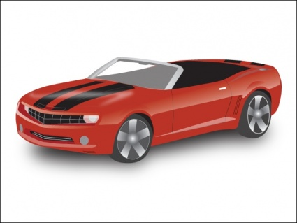 Chevy Camaro Convertible Clip Arts Free Clip Art   Clipartlogo Com
