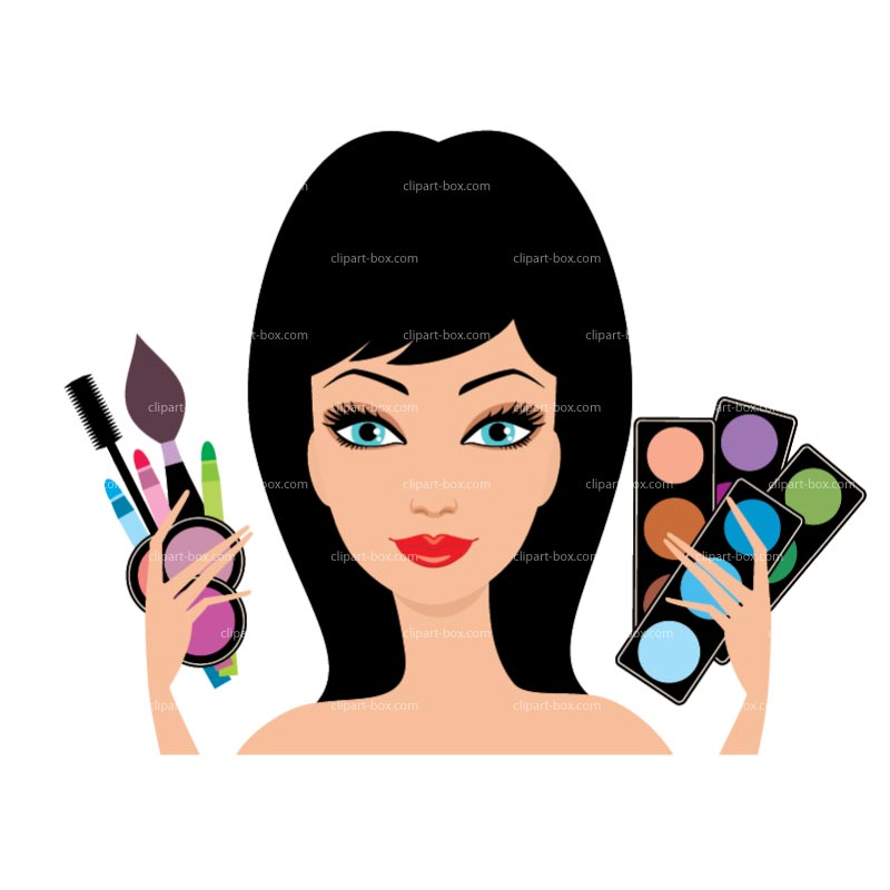 Clip Art Make Up Clip Art putting on makeup clipart kid kit royalty free vector design