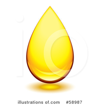 Droplet Clipart  58987 By Michaeltravers   Royalty Free  Rf  Stock