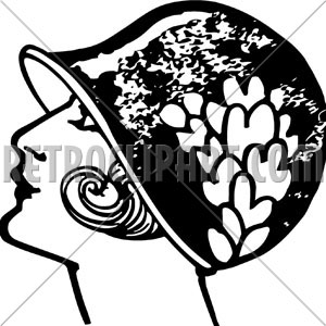Flapper Clip Art   Group Picture Image By Tag   Keywordpictures Com