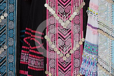 Hmong Tribe Clothes Stock Images   Image  25144874