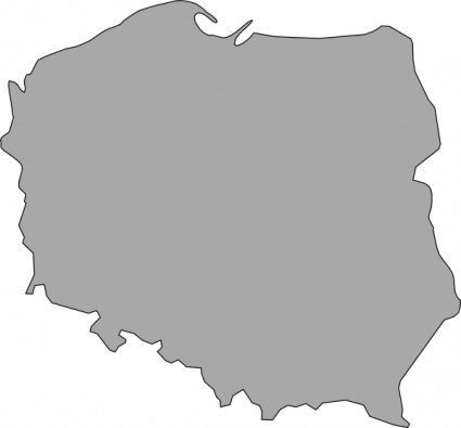 Map Of Poland Clipart