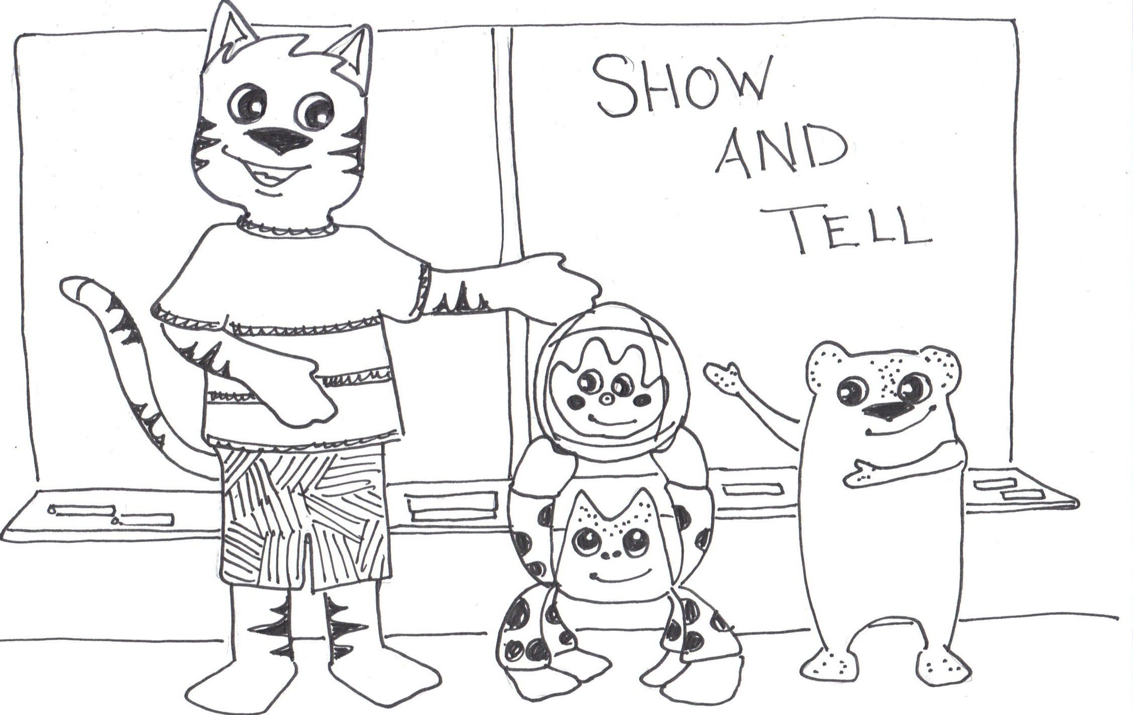 Show And Tell  What A Cat