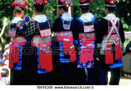 Stock Photography Of Laos Luang Prabang Hmong Tribe New Year S Eve