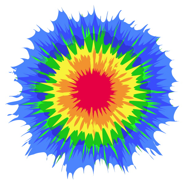 Tie Dye Clip Art Free   Cliparts Co