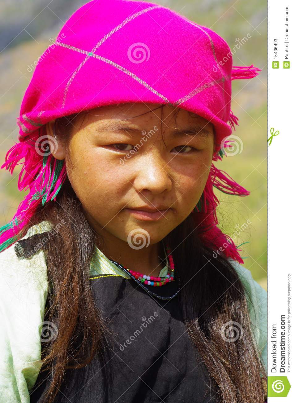 White Hmong Girl Stock Photos   Image  15436493