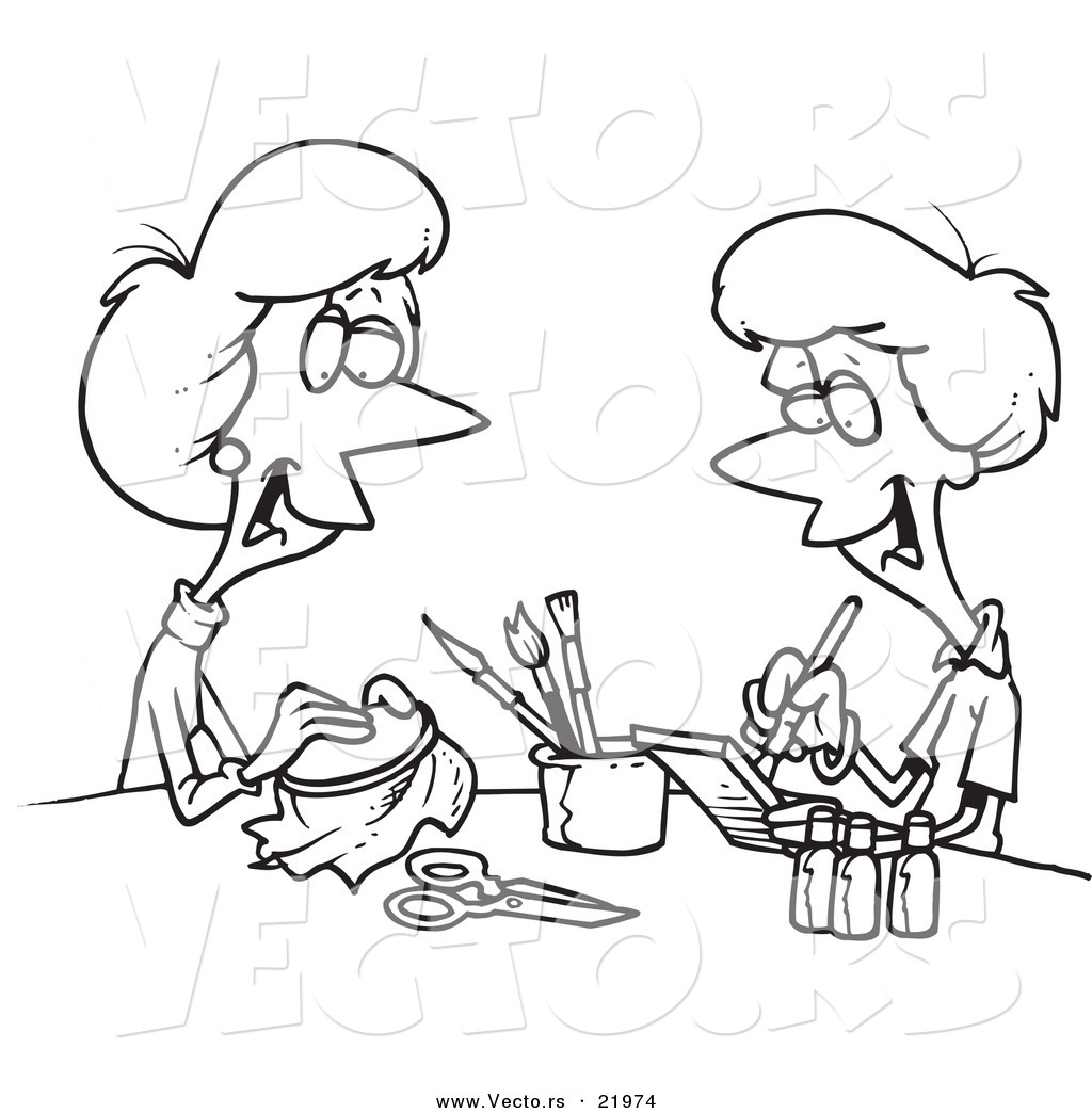 Crafts Black And White Clipart Clipart Suggest