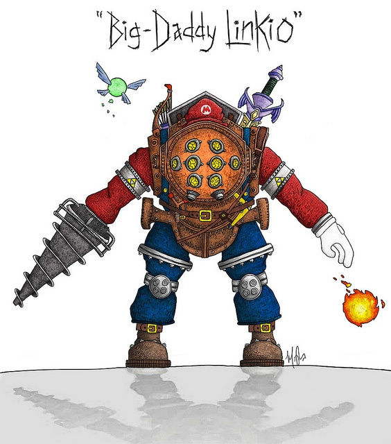 Dst Big Daddy Linkio Rubber Clear Digi Stamps Clipart Pinte ...