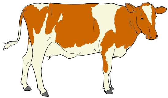 File Cow Clipart 01 Svg   Wikipedia The Free Encyclopedia