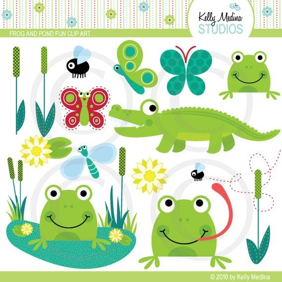Frogs And Pond Fun